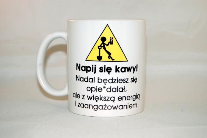 Świetny kubek na prezent  do nabycia na www.nadruko.pl