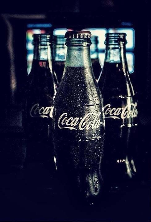 w szklanych butelkach, pyszota :D