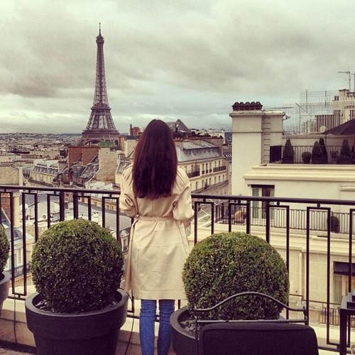 Chcę mieszkać w kamienicy z widokiem na wieżę Eiffela!