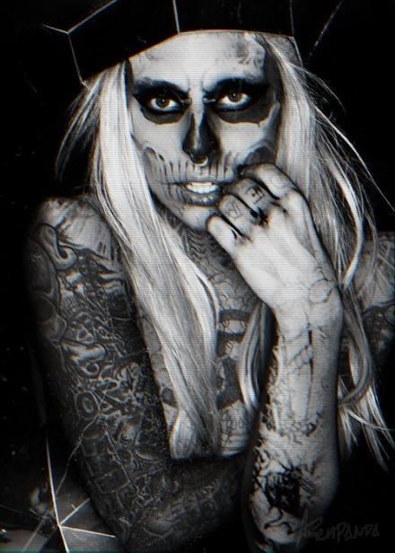Zombie-Girl <3