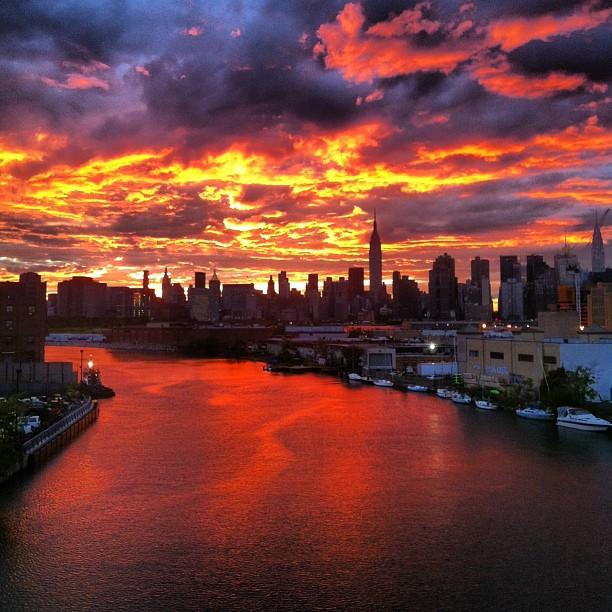 Przepiękny widok Nowego Jorku!