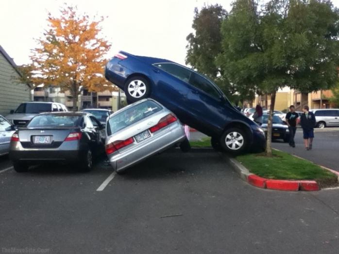 Zajebiste parkowanie ...