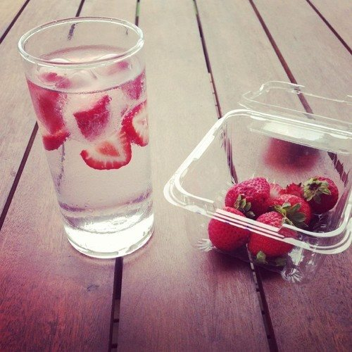truskawkowa woda :D