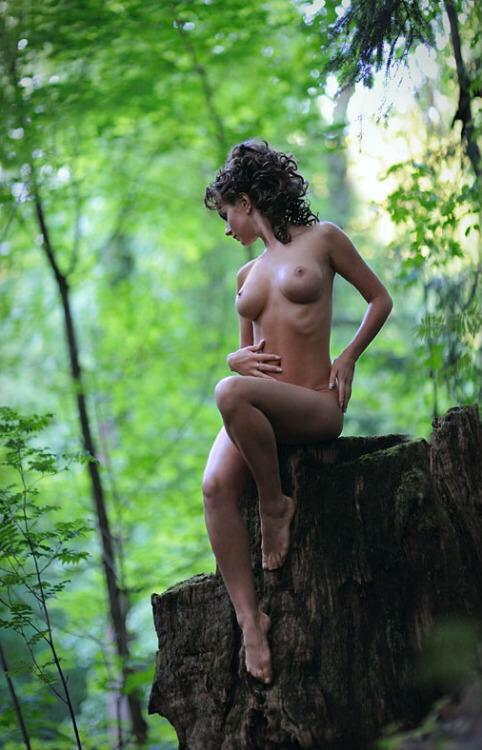 откровенные фото на природе