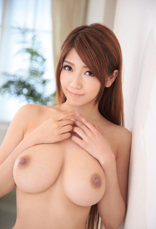 Фото грудь голой японки