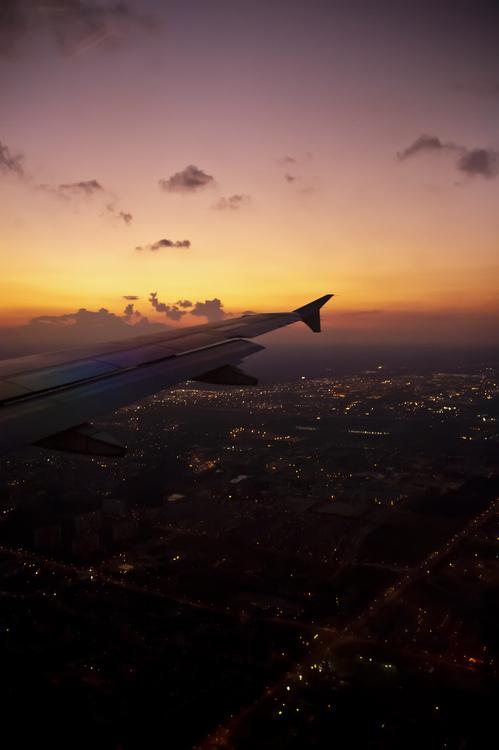 najlepsze widoki, widoki z samolotu.