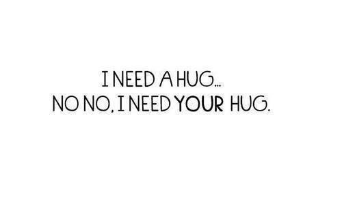I NEED A HUG ;C
