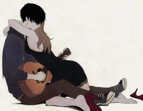 chłopak grający dla swej ukochanej *.*