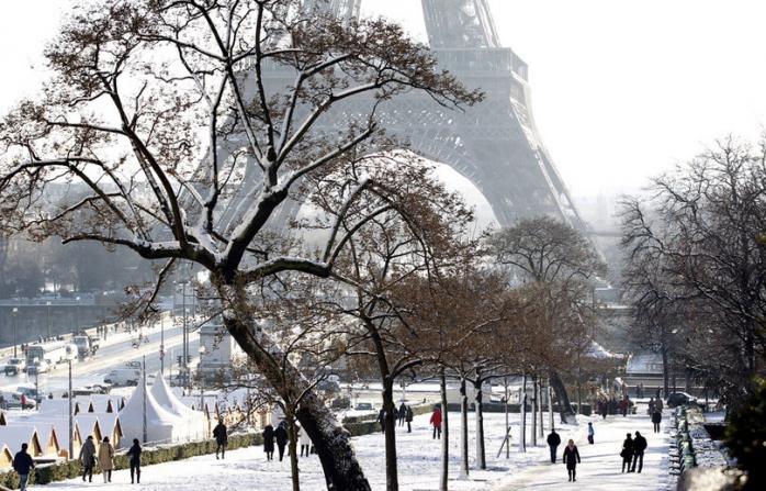 Zima w Paryżu też jest piękna