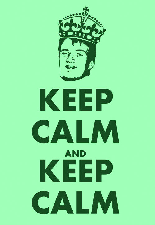 ...and keep calm'
